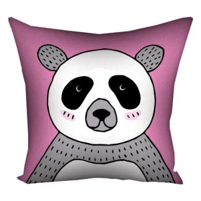 Подушка с принтом 40х40 см «Панда»