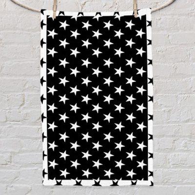 Полотенце маленькое с принтом «Звезды»
