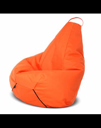 Кресло-груша большая, оранжевая