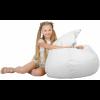 Кресло-груша большая, белая