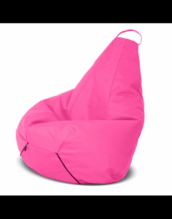 Кресло-груша средняя, розовая
