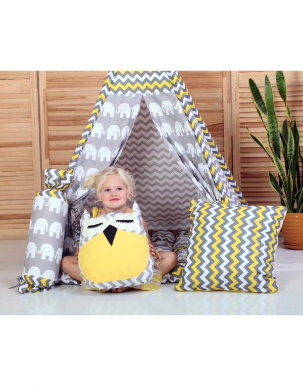 Вигвам Хатка комплект бонбон «Египет» с подушками