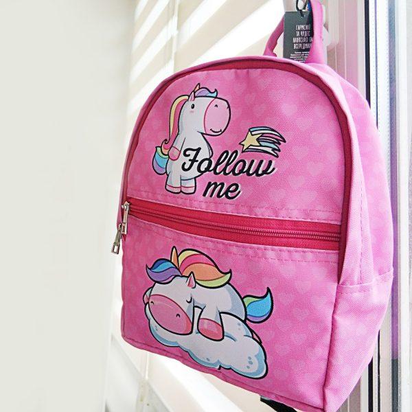 Рюкзак детский light «Follow me» Единорог