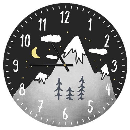 Часы настенные Горы