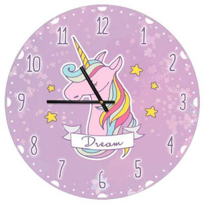 Часы настенные «Dream» единорог