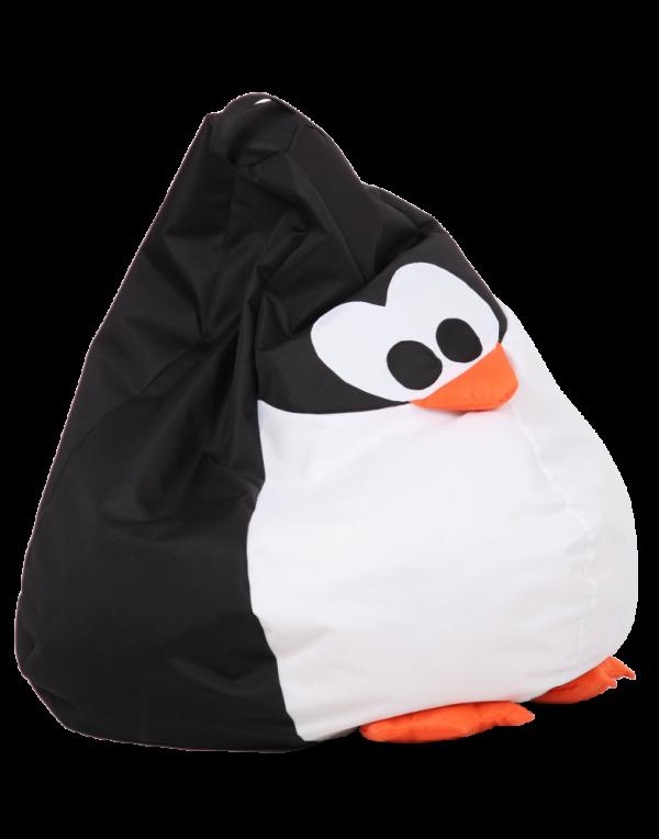 Кресло-мешок «Королевский Пингвин»  большой, черный