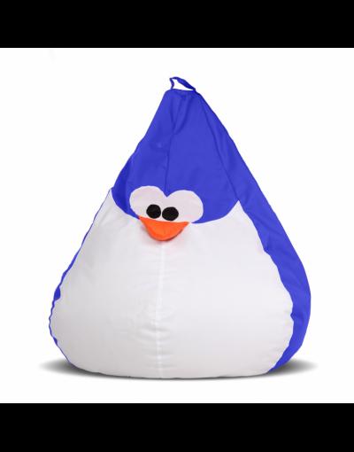 Кресло-мешок «Королевский Пингвин» детский, синий