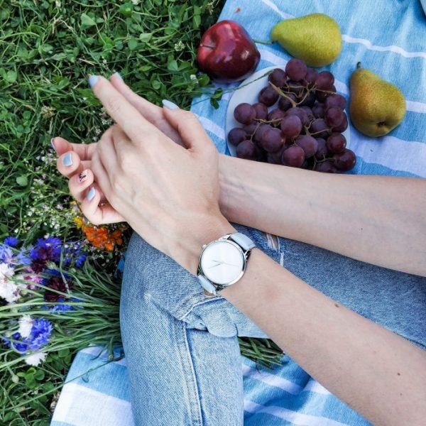 Часы наручные «Минимализм» нежно - голубой