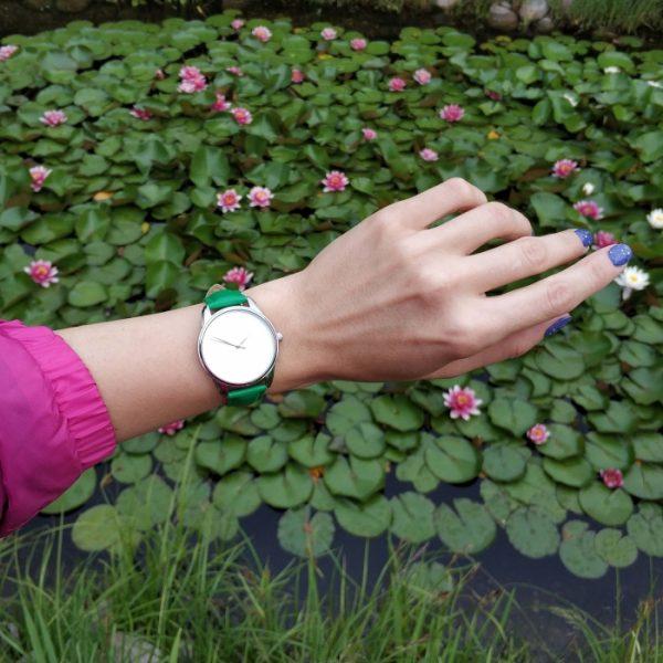 Часы наручные «Минимализм» изумрудно - зеленый