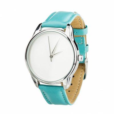 Часы наручные «Минимализм»  небесно - голубой