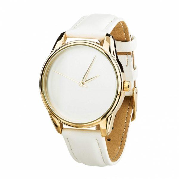 Часы наручные «Минимализм» кокосово - белый