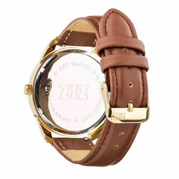 Часы наручные «Минимализм» кофейно - шоколадный