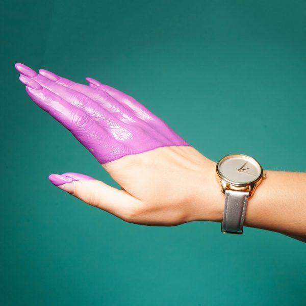 Часы наручные «Минимализм» металлик