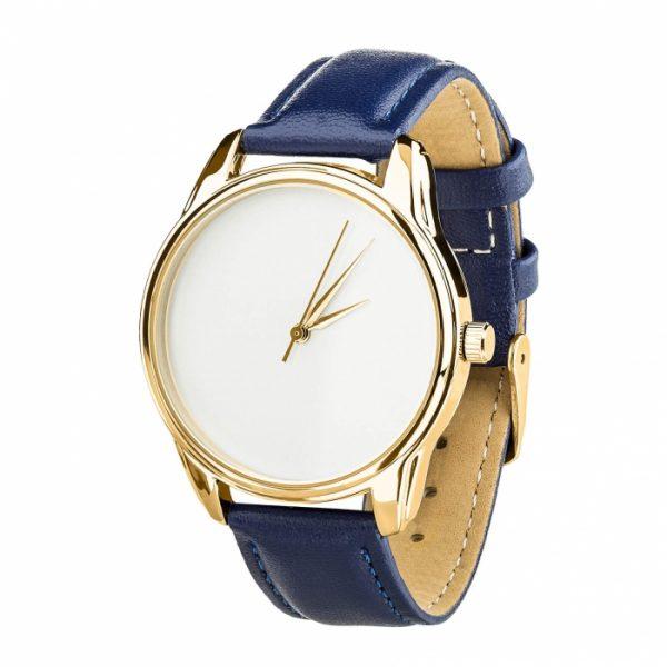 Часы наручные «Минимализм» ночная синь