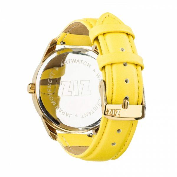 Часы наручные «Минимализм черный» лимонно - желтый