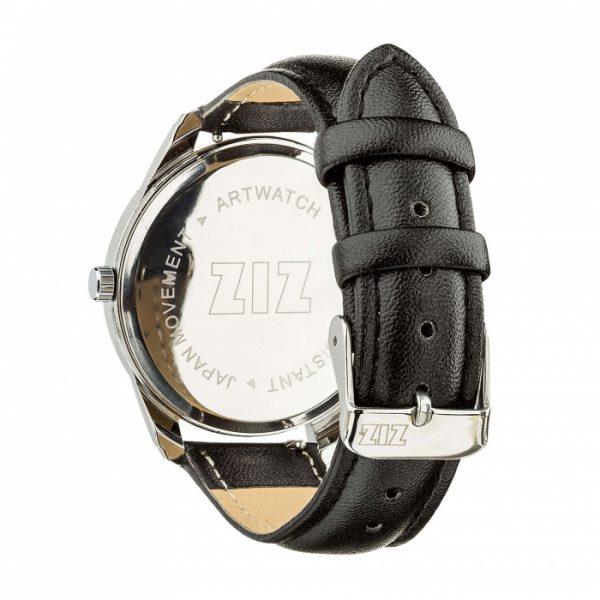 Часы наручные с обратным ходом «Классика» насыщенно - черный, серебро