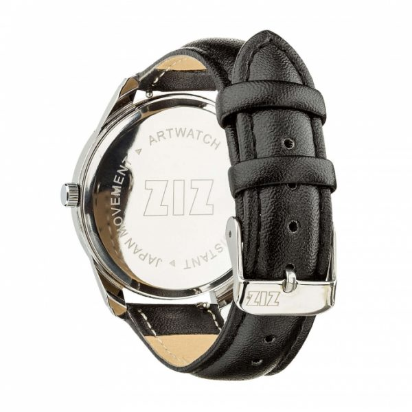 Часы наручные ZIZ «Сердечко» насыщенно - черный, серебро