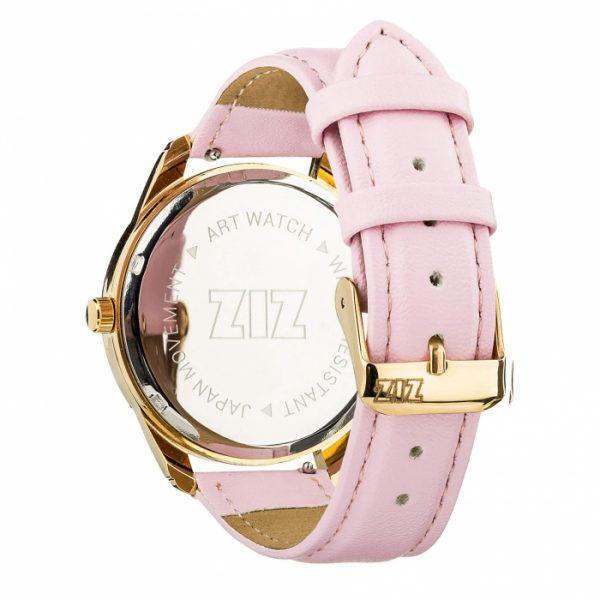 Часы наручные ZIZ «Сердечко» пудрово - розовый, золото