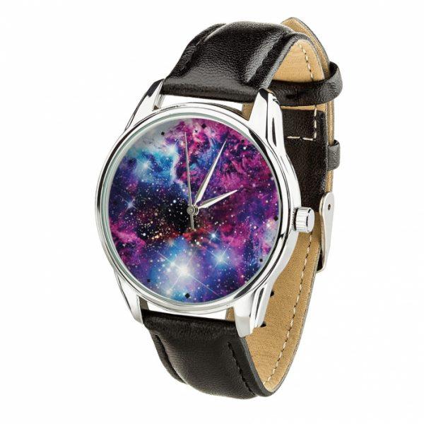 Часы наручные ZIZ «Галактика» насыщенно - черный, серебро