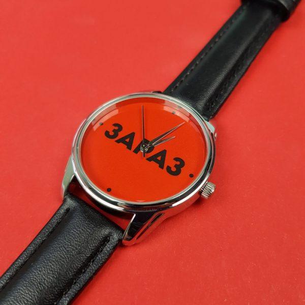 Часы наручные ZIZ «Зараз» насыщенно - черный, серебро