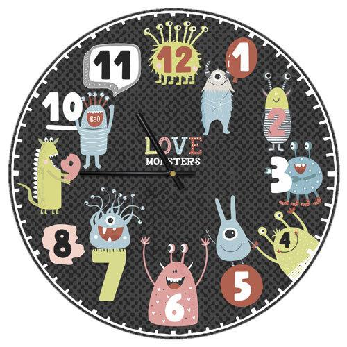 Часы настенные «Love monsters»