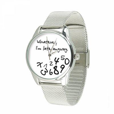 Часы наручные ZIZ « Late white» нержавеющей стали серебро