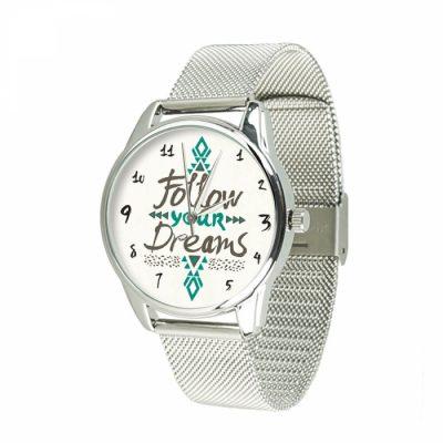 Часы наручные ZIZ « За своей мечтой»нержавеющей стали серебро