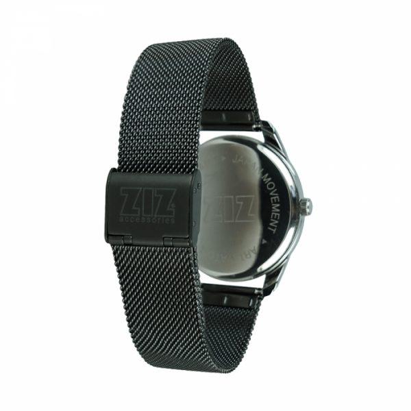 Часы наручные «Енот» ZIZ нержавеющей стали черный