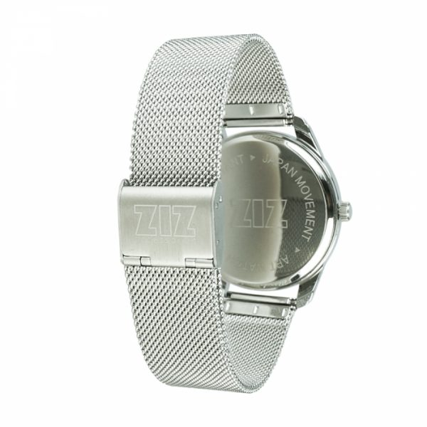Часы наручные ZIZ «Океаническая волна» нержавеющей стали серебро