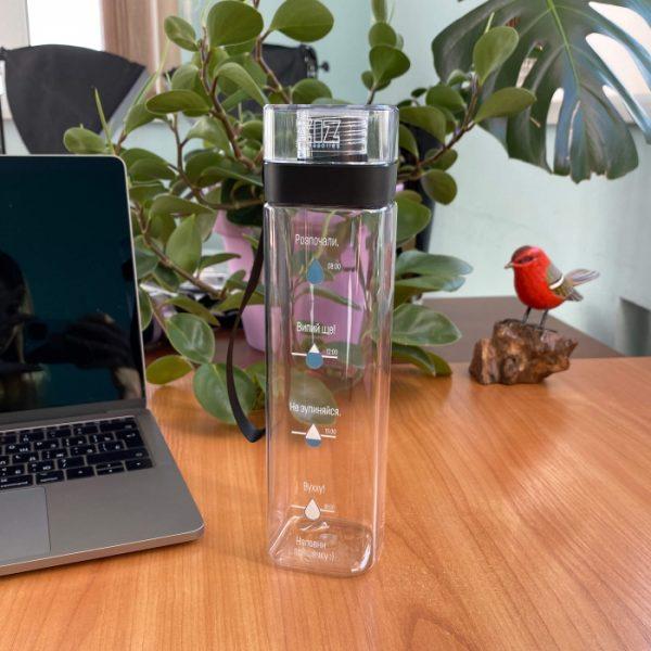 Бутылка для воды ZIZ «Наполни»