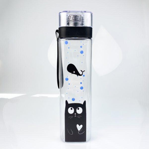 Бутылка для воды ZIZ «Кот»