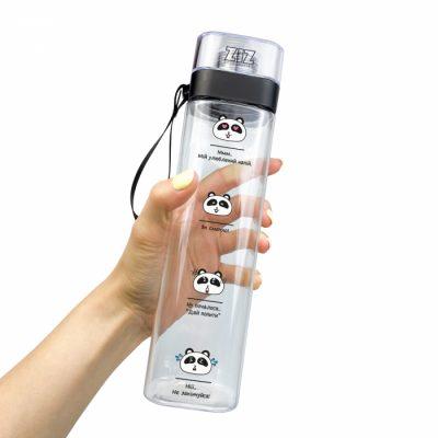 Бутылка для воды ZIZ «Панды»