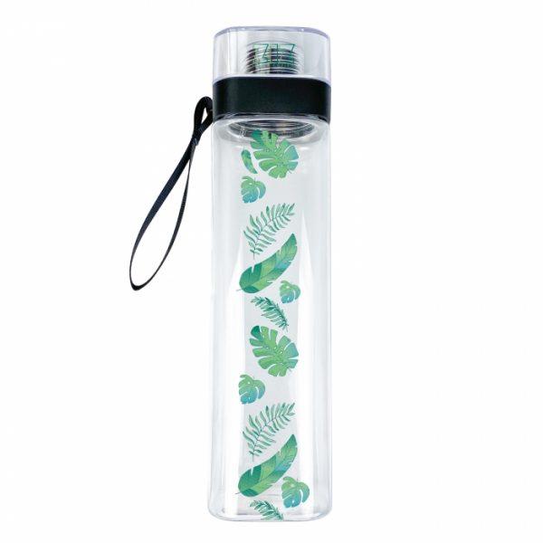 Бутылка для воды ZIZ «Пальмовые листья»