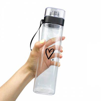 Бутылка для воды ZIZ «Сердечко»