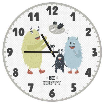 Часы настенные «Be happy»