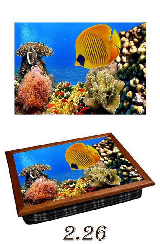 Поднос на подушке «Рыбки»