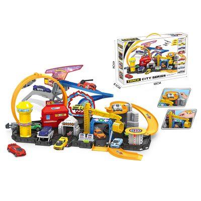 Игрушка Гараж-трек с машинками