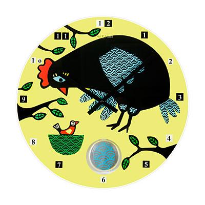 Часы настенные «Курочка-несушка» Ø43 см