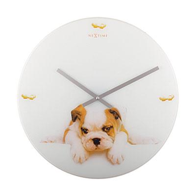 Часы настенные «Щенок» Ø43 см