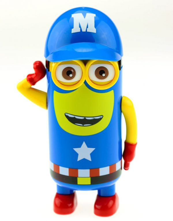 Термос «Миньон. Captain America» (синий)