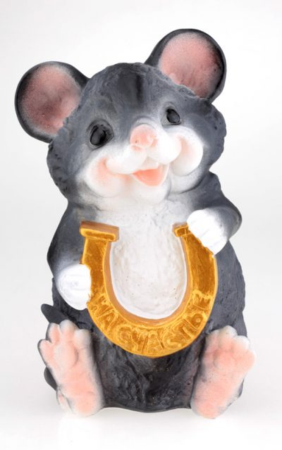 Копилка «Мышка с подковой»