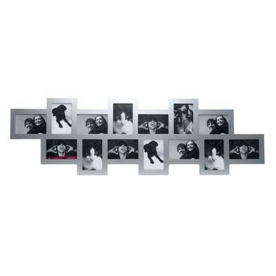Фоторамка Collage 14, серая