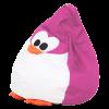 Кресло-мешок «Королевский Пингвин» средний, розовый