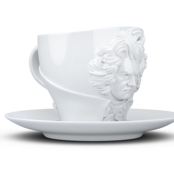 Чашка с блюдцем Tassen Людвиг ван Бетховен (260 мл)