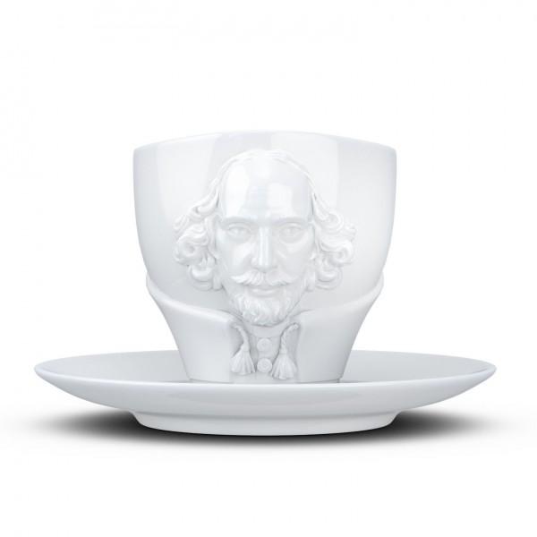 Чашка с блюдцем Tassen Вильям Шекспир (260 мл)
