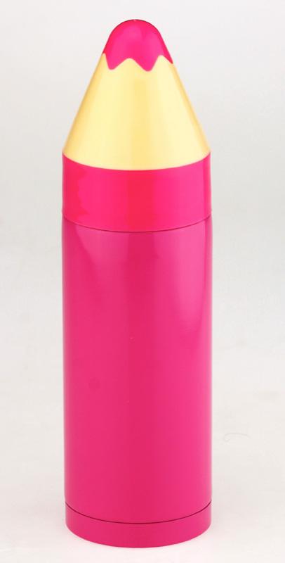 Термос «Карандаш» (розовый)