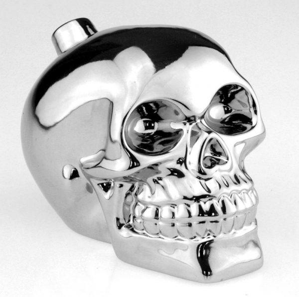 Подарочный набор «Череп» серебряный 33 wishes (5 предметов)