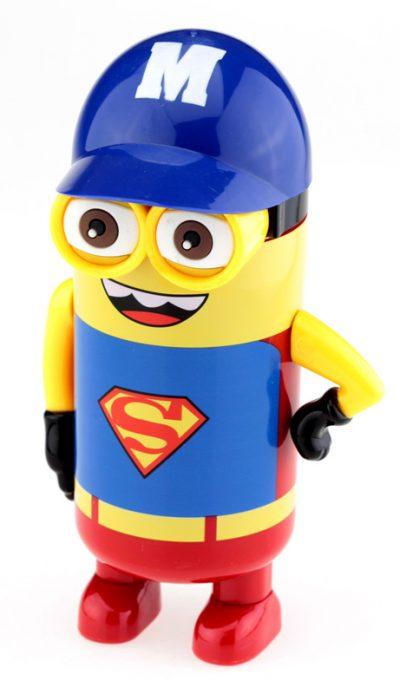 Термос «Миньон. Superman» (синий)