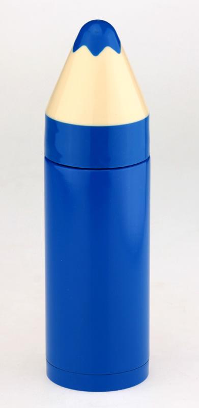 Термос «Карандаш» (синий)