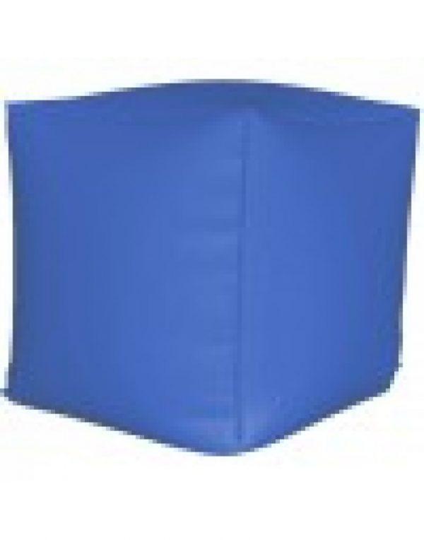Пуф куб, синий